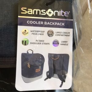 Samsonite Cooler Backpack NWT